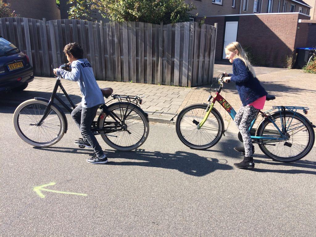 Leren lezen = steppen op de fiets?